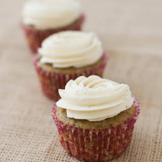 Fig Spice Cupcakes with Honey Cinnamon Buttercream.