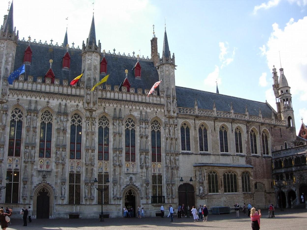 Hôtel de ville à Bruges