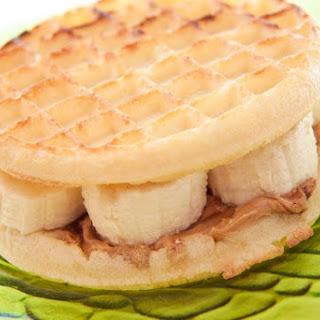 Banana Cinnamon Waffle Sandwich