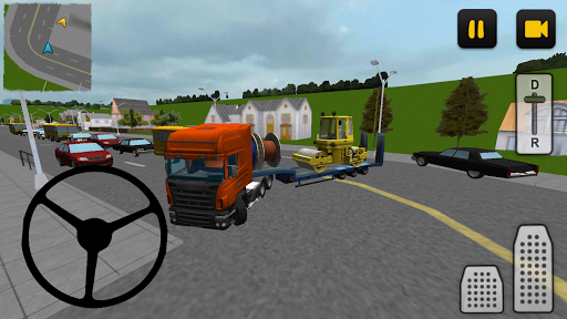 Heavy Equipment Transport 3D
