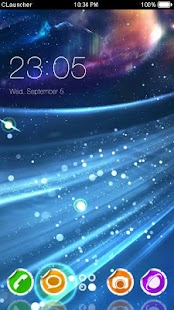 Best Colorful Galaxy Theme - náhled