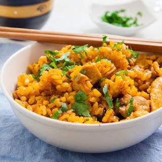 20 Minute Easy Chicken Biryani With Cauliflower Rice.