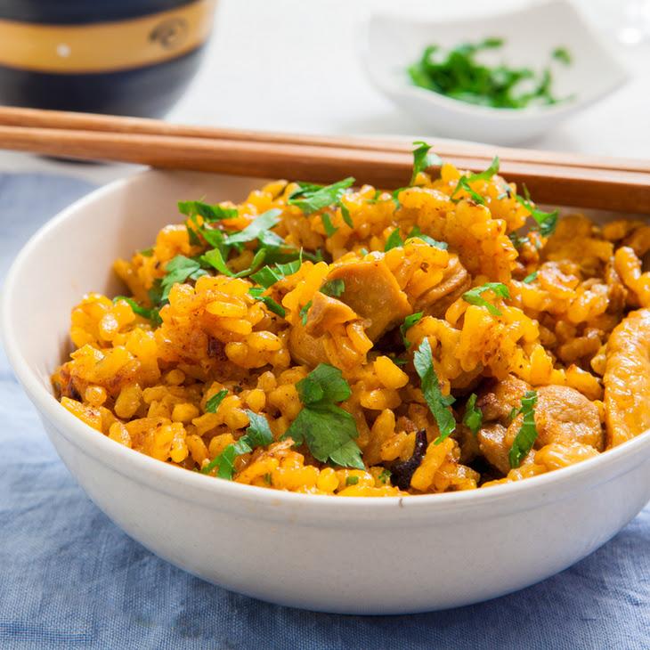 20 Minute Easy Chicken Biryani With Cauliflower Rice