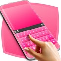 Pink Rubber Keyboard Theme icon