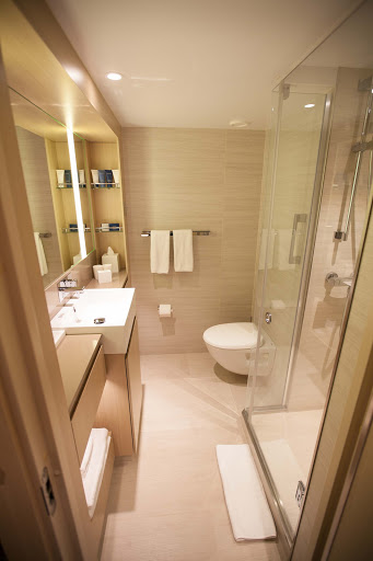 Viking-Star-balcony-stateroom-bathroom.jpg - The bathroom of a balcony stateroom on Viking Star.