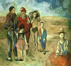 "Photo: Pablo Picasso, ""Saltimbanchi"" (1905)"