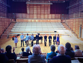 Photo: University Music Scholars in the lunchtime concert on the second day of Summer Music Week.