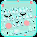 Cute Sweet Face Keyboard Theme icon