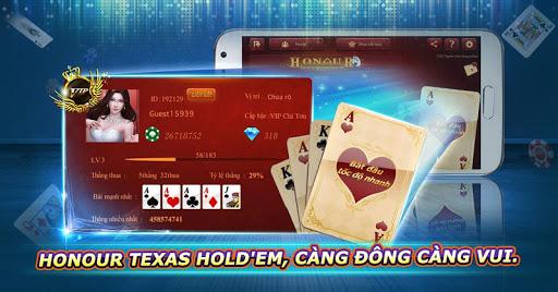 Honour Texas Hold'em-Vietnam