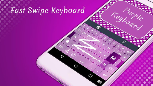 Purple Mega Keyboard Theme
