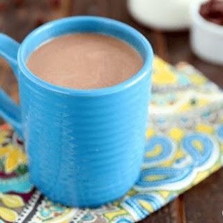 The Best Ever Crockpot Hot Chocolate.