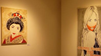 Photo: Galerie 30Works; Sushi Connection; Solo Show MITTENIMWALD; Geisha Airi II & Kanon II