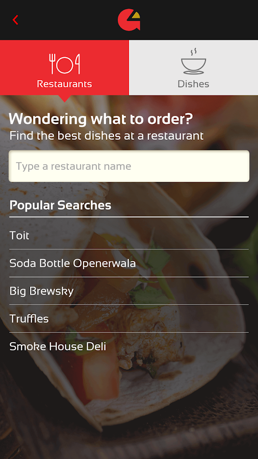 Grubbr - Food Discovery App- screenshot