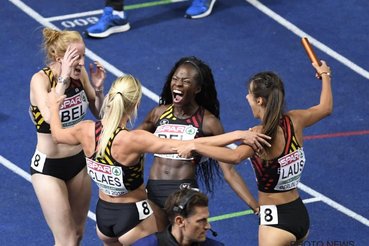 Bijna medaille voor verrassend sterke Cheetahs, wel nationaal record