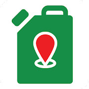 Gas stations map of Belarus