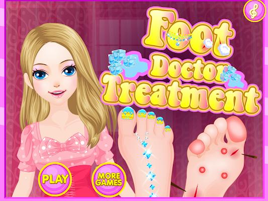 Foot Doctor Treatment - screenshot