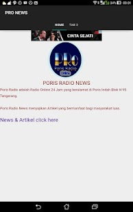 PORIS RADIO STREAMING & NEWS- screenshot thumbnail