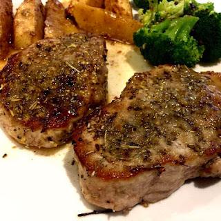 Savory Pork Chops and Apples Recipe