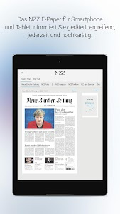 NZZ E-Paper screenshot 5