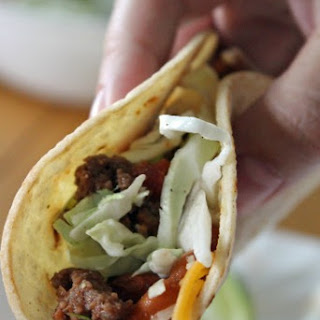 Chipotle Beef & Bean Tacos