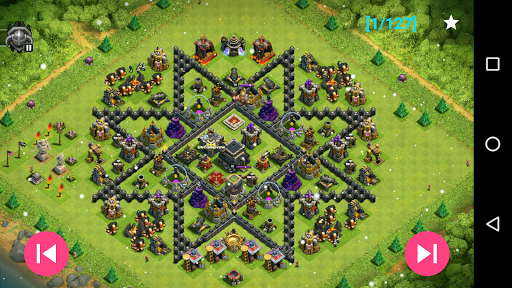 Maps of Clash Of Clans 1.30 screenshots 3