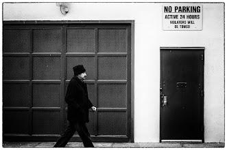 Photo: serious walker