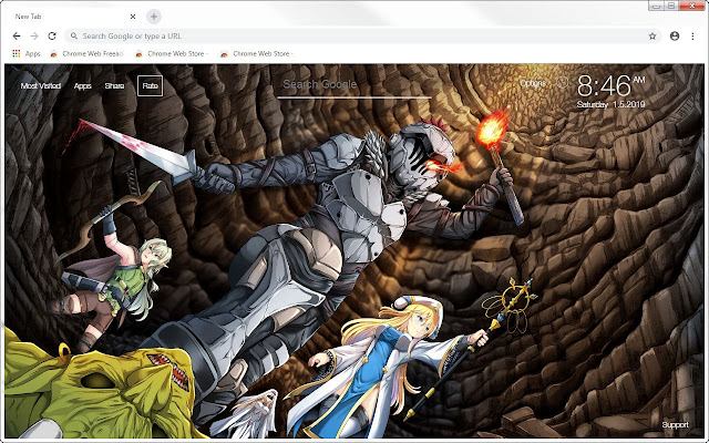 Goblin Slayer HD Wallpapers Anime New Tab