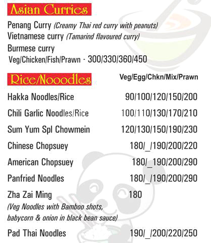 I Spice menu 9