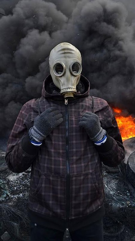 Army Gas Mask Live Wallpaper APK