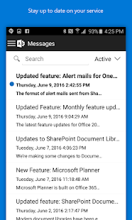 Office 365 Admin- screenshot thumbnail