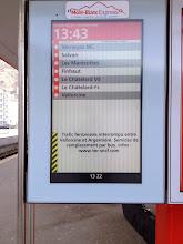 Photo: Mont Blanc Express - Interrompu!