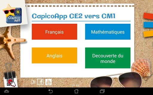 CapicoApp CE2 vers CM1