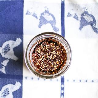 Homemade Mustard with Balsamic Vinegar