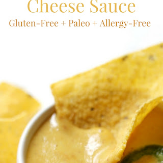 Creamy Nut-Free Vegan Nacho Cheese Sauce (Gluten-Free, Paleo, Allergy-Free).