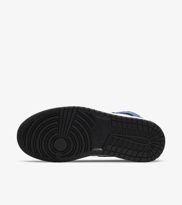 """""""Air Jordan 1 Mid Tie Dye (W)"""" รองเท้าสีมัดย้อมของผู้หญิง 04"""