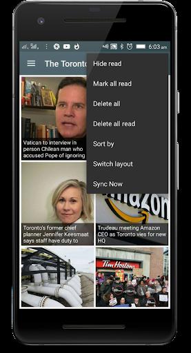 Canada News: the Global News app 1.0 screenshots 1