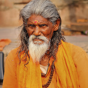 URBAN KATHA by Pranjal  Kumar Ƿrānx - People Portraits of Men ( hindu, god, pandit, meditation, india, banaras, shiva, lord, saint, hindi, ghats,  )
