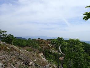 クラシ方面(奥に御池岳)