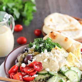 Mediterranean Quinoa and Vegetable Bowls