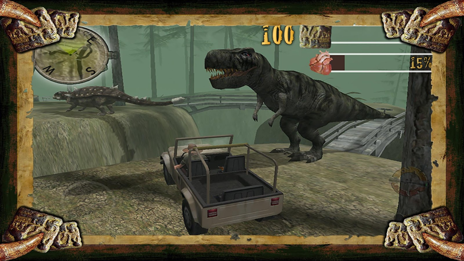 Dino Safari 2 Unlocked- screenshot