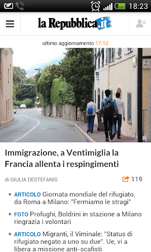 Newspapers of Italy