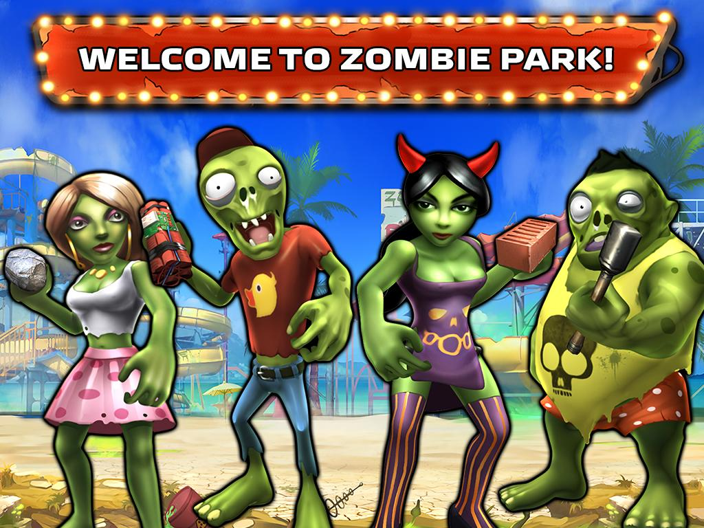 Zombie Park- screenshot
