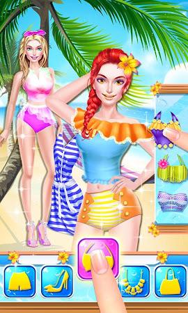 Summer Girl! Beach PARTY Salon 1.2 screenshot 1503287