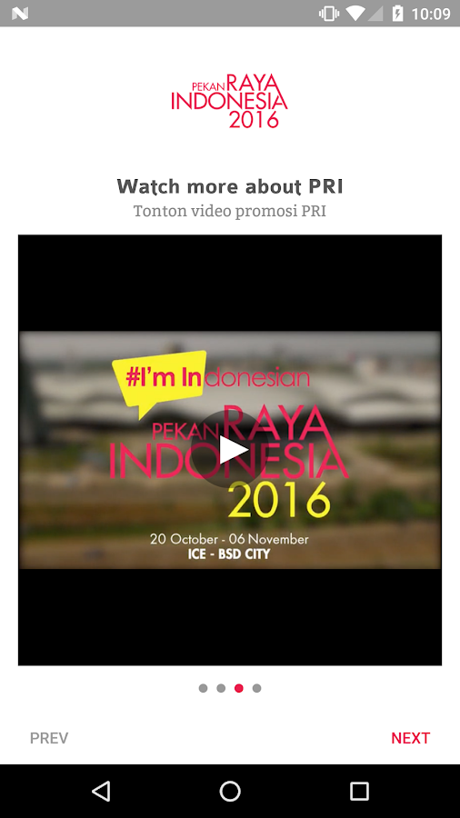 Pekan Raya Indonesia 2016- screenshot