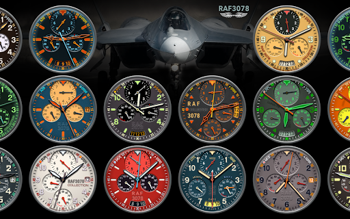 Watch Face Collection RAF3078