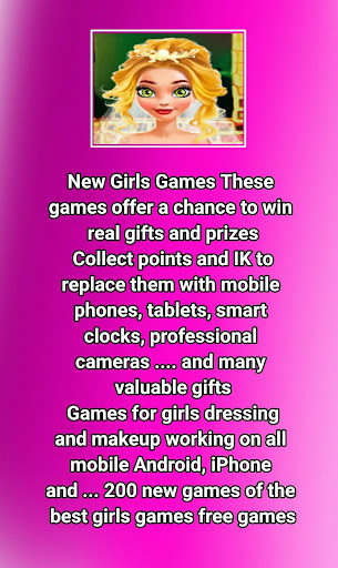 Games girls Free - Two hundred new game  captures d'écran 2