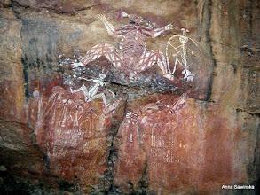 Photo: Nourlangie rock art in Kakadu National Park