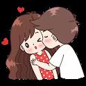 Romantic Love Sticker - For WAStickerApps icon