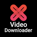 X Video Downloader - Free & Fast Video Downloader icon