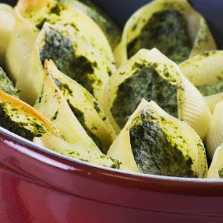 Baked Shells with Filling.